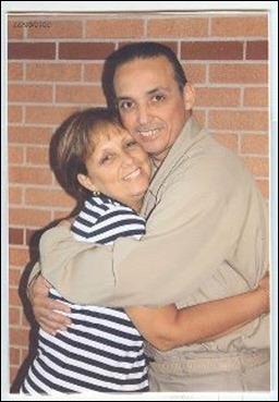 Antonio Guerrero y su hermana Maruchi