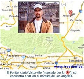 Gerardo Hernández en la prisión de Victorville