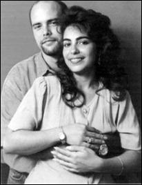 Gerardo Hernández y Adriana Pérez su esposa