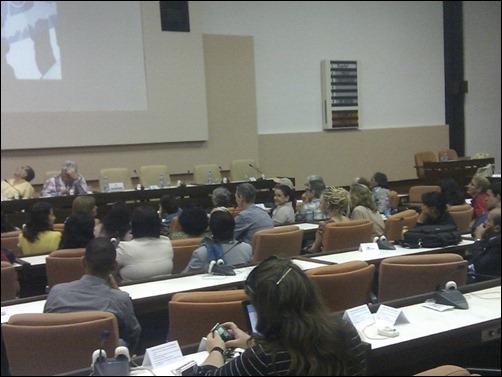 """Tovias Skiele habla en el Panel """"Compromiso social de los universitarios en la promoción de la lucha por la liberación de Los Cinco"""" en Universidad 2014"""