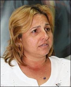 Elizabeth  Palmeiro, la esposa del antiterrorista cubano Ramón Labañino