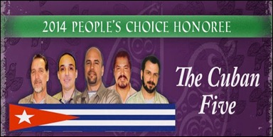 2014 People´s Choise Honoree The Cuban Five