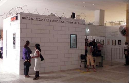 Inauguran de la instalación NO AGRADEZCAN EL SILENCIO, creada por el artista Alexis Leiva Machado (Kcho)