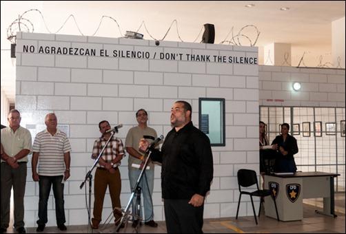 No agradezcan el silencio convocó este sábado a muchos al Museo de Bellas Artes.