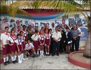 Asistentes al foro por los Cinco en Camagüey