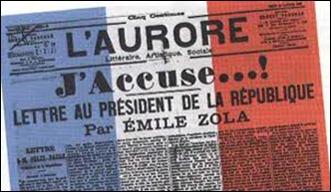 Imagen de L´AUROPE con artículo de Emile Zola J´Accuse...!