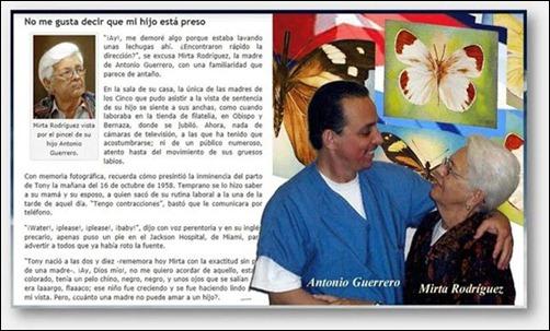 Antonio Guerrero y Mirtha Rodríguez