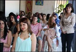 Asistentes al II Encuentro Nacional de Residentes Cubanos en El Líbano, Beirut, 18 de mayo de 2014.