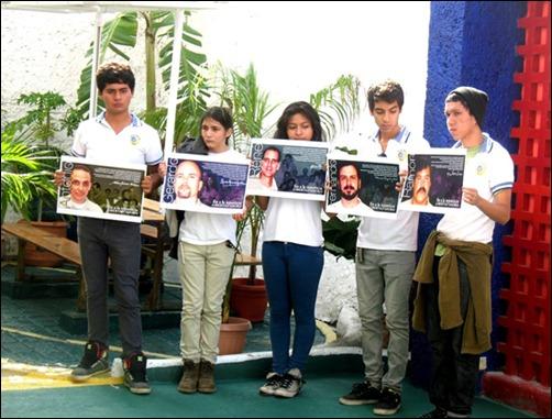 Develación de busto de Martí en Cancún en homenaje a los Cinco Cubanos1