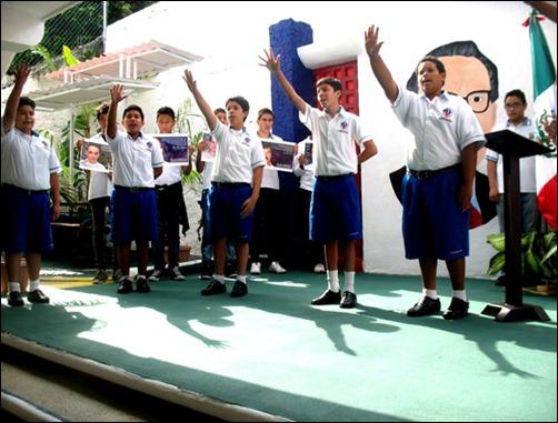 Develación de busto de Martí en Cancún en homenaje a los Cinco Cubanos5