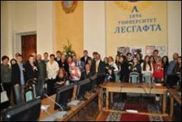 Encuentro con Sociedad de Amistad con Cuba en San Petersburgo
