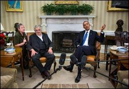 Encuentro de José Mujica con Barack Obama
