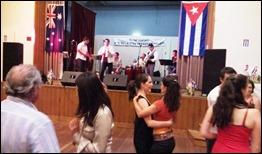 La Mayor Fiesta Cubana del Año 2012 organizada por la Embajada de Cuba y la Asociación de Amistad Australia Cuba (ACFS)