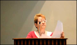 Linda Meissenheimer, member of the Committee Friends of the Cuban Five in Toronto