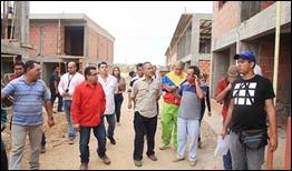 Ministro Villegas en recorrido por obras de urbanismo en Caracas