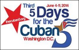 Logo III Jornada 5 dias por los 5 cubanos