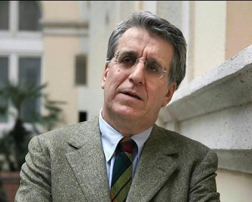 El Senador italiano, Luigi Mancon, del Partido Democrático.
