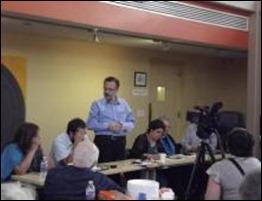Actividad en la Casa de Marylan, III Jornada Internacional 5 Dias por los 5 Cubanos