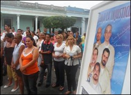 Actividad por los Cinco en Camagüey