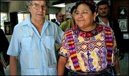 Adolfo Pèrez Esquivel Y Rigoberta Menchú