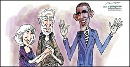 Alan, Judy Gros and Barack Obama (ProgesoWeekly)
