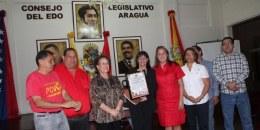 CLEBA de Aragua, Venezuela, rinde homenaje a los Cinco Héroes Cubanos