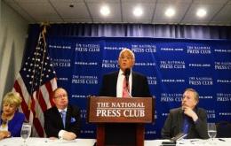 Conferencia de Prensa 5 Days For The 5, Washington DC