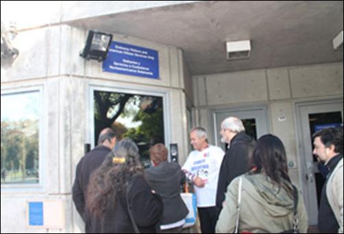 Entrega de misiva en la embajada de EE.UU. por el Comité Argentino por la Libertad de los Cinco