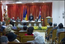 Jornada de Solidaridad con Cuba en Bucarest , marzo de 2013