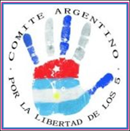 Logotipo Comité Argentino de Solidaridad con los 5