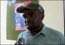 Omary Tembweta Mgumba, militante del Partido de la Revolución en Tanzania