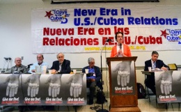 Panel Nueva Era en las relaciones Cuba-EEUU 5 Days For The 5, Washington DC