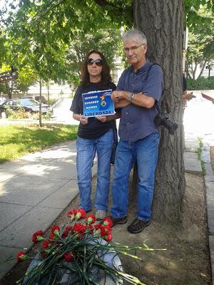 Alicia Jrapko y Bill Hackwell