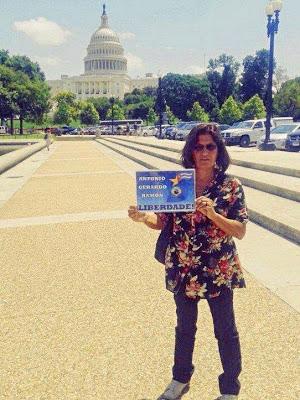 Carmen Diniz durante la III jornada en Washington DC