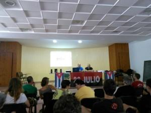 Charlas en municipios de Alicante (Pego y Alcoi) debaten sobre Cuba y Los Cinco8