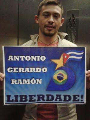 Denilson, trabajador de un condominio en Rio de Janeiro