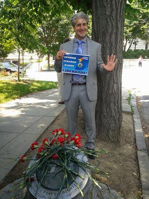 Francisco Letelier - hijo del diplomatico chileno Orlando Letelier asesinado en Washington