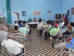Solidaridad con antiterroristas cubanos en ACRC de Morón