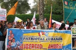Solidaridad con Cuba en Perú
