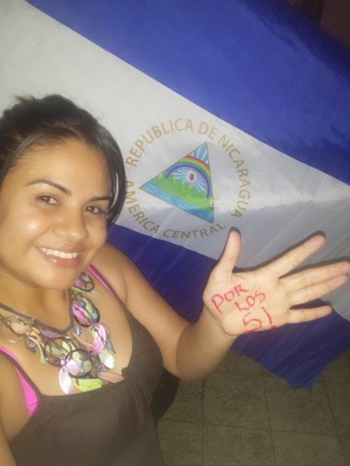 Cándida Yajaira Davila Arcia. Nicaragua