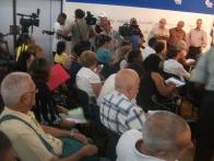 Participantes en el V Foro de la Sociedad Civil por los Cinco