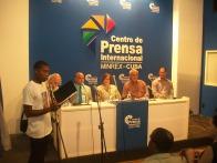 Panel del V Foro de la Sociedad Civil en Solidaridad con Los Cinco