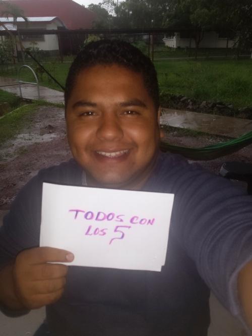 262 - Bonard Moreno Moran, de Esteli Nicaragua
