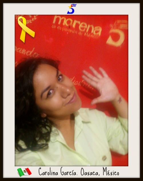 Carolina García, Oaxaca, México (@krolinaemoza)