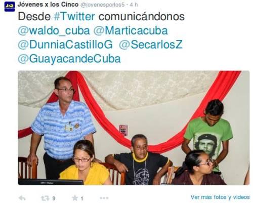 Colectivo de tuitteros de la UCI #Coloquio5Heroes