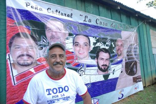Julián Gutiérrez Alonso, Coordinador de la Red de Universidades en Solidaridad con la causa de Los Cinco.