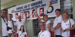 Brigada solidaria francesa visita Matanzas