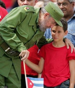 Elian y Fidel