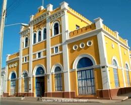 Fachada del museo a la Batalla de Ideas, Cuba
