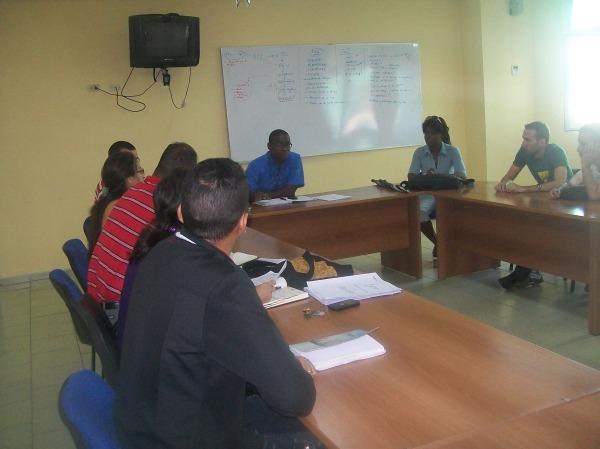 Reunión de constitución del Grupo de Acción en Solidaridad con los Cinco de la Facultad 1 de la Universidad de las Ciencias Informáticas (UCI)